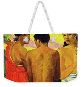 Three Tahitians Weekender Tote Bag