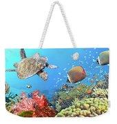 Underwater Panorama Weekender Tote Bag
