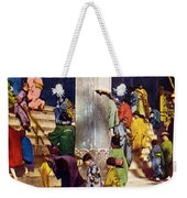 Vintage Japanese Art Weekender Tote Bag