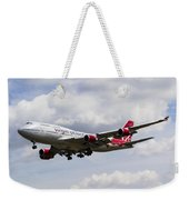 Virgin Atlantic Boeing 747 Weekender Tote Bag