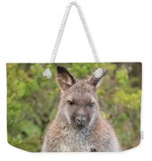 Wallaby Outside By Itself Weekender Tote Bag