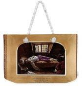 Wallis Henry The Death Of Chatterton2 Henry Wallis Weekender Tote Bag