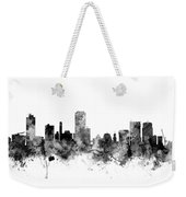 Wellington New Zealand Skyline Weekender Tote Bag