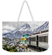 White Pass Mountains In British Columbia Weekender Tote Bag