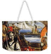 World War I: French Poster Weekender Tote Bag by Granger