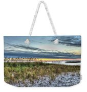 Yorktown Beach At Sunrise Weekender Tote Bag