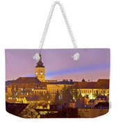 Zagreb Historic Upper Town Night View Weekender Tote Bag