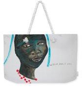 Dinka Bride - South Sudan Weekender Tote Bag