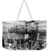 40 Inch Liquid Hydrogen Bubble Chamber Weekender Tote Bag