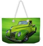 40s Ford Pickup Weekender Tote Bag