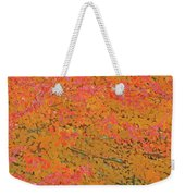 4139 Flaming Maple Weekender Tote Bag
