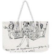 41601 Carlos Saenz De Tejada Weekender Tote Bag