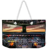 4245- Cockpit Weekender Tote Bag