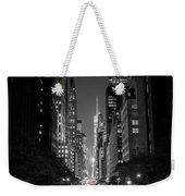 42nd Street Nyc Weekender Tote Bag