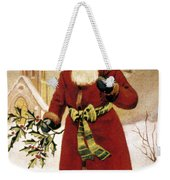American Christmas Card Weekender Tote Bag
