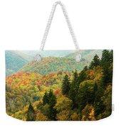 North Carolina Fall Colors Weekender Tote Bag
