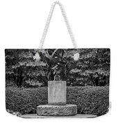 4387- Sculpture Black And Whi Weekender Tote Bag