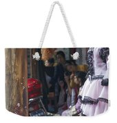 4398- Dress Up Weekender Tote Bag
