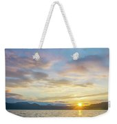 Beautiful Landscape Scenes At Lake Jocassee South Carolina Weekender Tote Bag