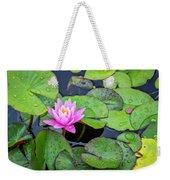 4434- Lily Pads Weekender Tote Bag