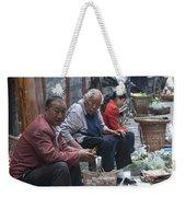 4461- Street Venders Weekender Tote Bag