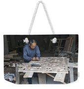 4466- Wood Carver Weekender Tote Bag