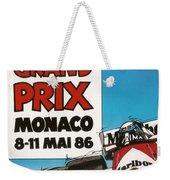 44th Monaco Grand Prix 1986 Weekender Tote Bag