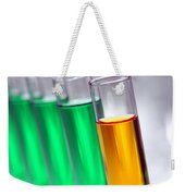 Test Tubes In Science Research Lab Weekender Tote Bag