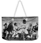 George H. Ruth (1895-1948) Weekender Tote Bag by Granger