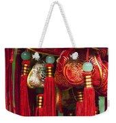 4647- Chinese Tassels Weekender Tote Bag