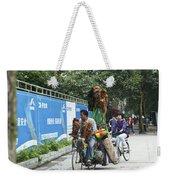 4714- Bicycle Vender Weekender Tote Bag