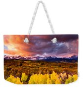 Original Landscape Painting Weekender Tote Bag