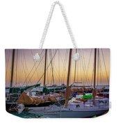 4956- Key West Harbor At Sunset Weekender Tote Bag