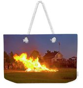 4th Of July 2010 Byc Weekender Tote Bag by Charles Harden