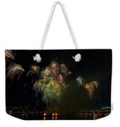 4th Of July Fireworks From The Barge Portland Oregon Weekender Tote Bag