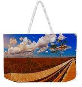 4x1 Everglades Panorama Number Two Weekender Tote Bag