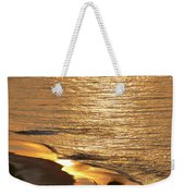Golden Scenery Weekender Tote Bag