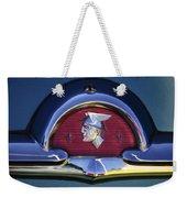 1953 Mercury Monterey Emblem Weekender Tote Bag