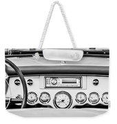 1954 Chevrolet Corvette Dashboard Weekender Tote Bag