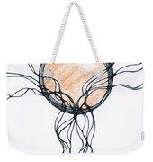 Abstract Pencil Pattern Weekender Tote Bag