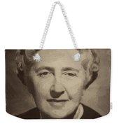 Agatha Christie 2 Weekender Tote Bag