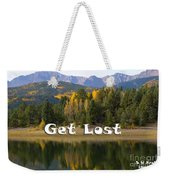 Autumn Aspen At Crystal Creek Reservoir Pikes Peak Weekender Tote Bag