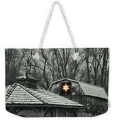 Barn Star Weekender Tote Bag