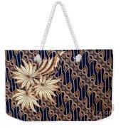 Batik Weekender Tote Bag