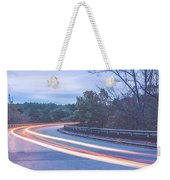 Beautiful Autumn Landscape In North Carolina Mountains Weekender Tote Bag