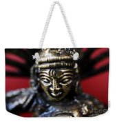 Buddha Sculpture Weekender Tote Bag