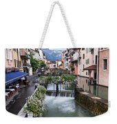 Canals Of Annecy Weekender Tote Bag