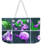Cancer Cell Death Sequence, Sem Weekender Tote Bag by Science Source