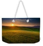 Cereal Fields Weekender Tote Bag