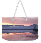 Cerknica Lake At Dawn Weekender Tote Bag